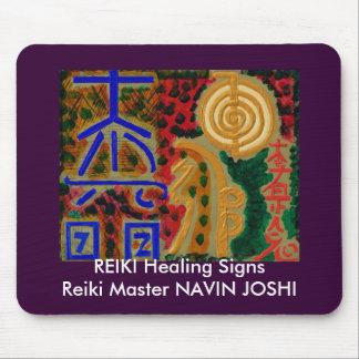 REIKI Main Healing Symbols Mousepad