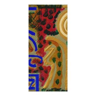 REIKI Main Healing Symbols Customized Rack Card