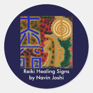REIKI Main Healing Symbols Stickers