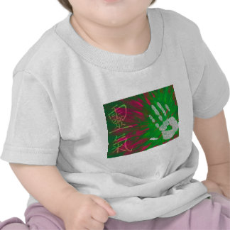 Reiki - mano de los Healings Camisetas