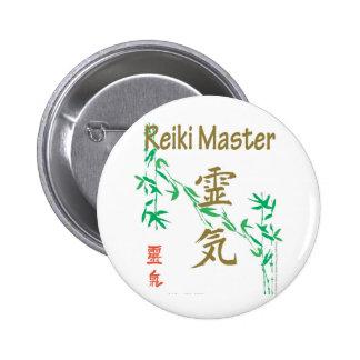 Reiki Master 2 Inch Round Button