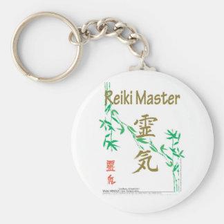 Reiki Master Basic Round Button Keychain