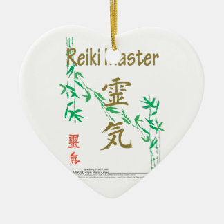 Reiki Master Ceramic Ornament