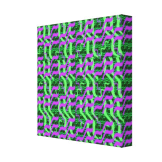 Reiki Master Created Energy Pattern Canvas Print