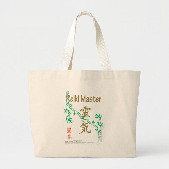 Reiki Master Large Tote Bag