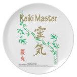 Reiki Master Melamine Plate