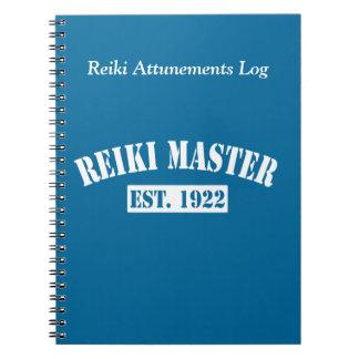 Reiki Master Notebook