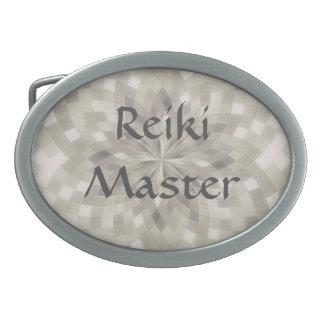 Reiki Master Oval Belt Buckle