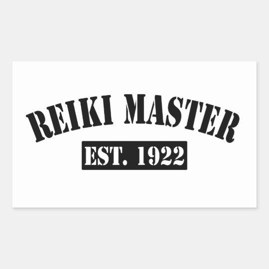 Reiki Master Rectangular Sticker