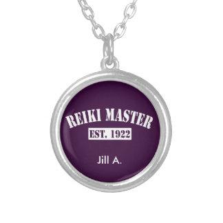 Reiki Master Round Pendant Necklace