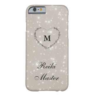 Reiki master Silver Sparkle Barely There iPhone 6 Case