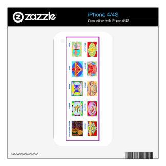 Reiki Master Tools - Symbols n Giveaways iPhone 4S Decal