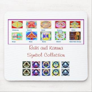 Reiki Master Tools - Symbols n Giveaways Mousepads