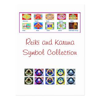 Reiki Master Tools - Symbols n Giveaways Postcard