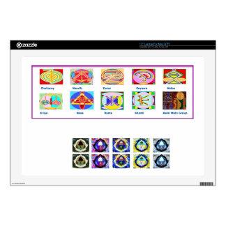 Reiki Master Tools - Symbols n Giveaways Skin For Laptop