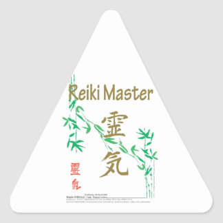 Reiki Master Triangle Sticker