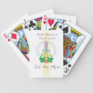 Reiki Masters Do It With Dai Ko Myo Bicycle Playing Cards