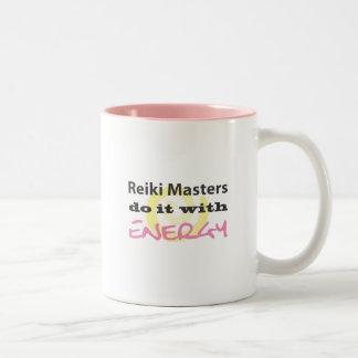 Reiki Masters Do It with Energy Coffee Mugs