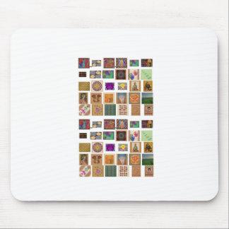 reiki ommantra buddha ganesh chokurei chakra krish mouse pads