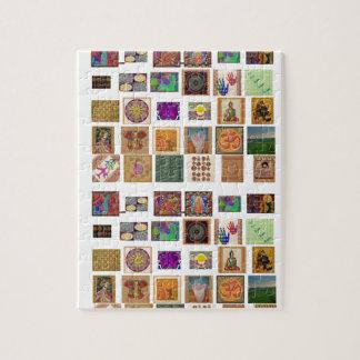reiki,ommantra,buddha,ganesh,chokurei,chakra,krish jigsaw puzzles