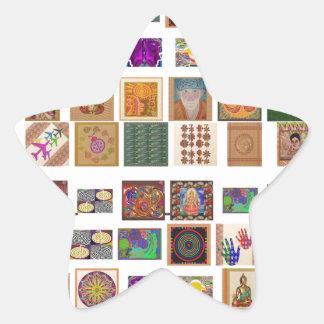 reiki,ommantra,buddha,ganesh,chokurei,chakra,krish star sticker