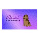 Reiki para las tarjetas de visita de los animales