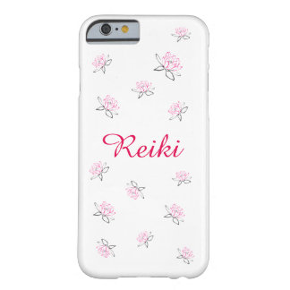 Reiki pink Lotus flower Barely There iPhone 6 Case
