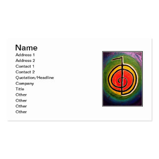 Reiki Power Ch-Ku-Rei Business Cards