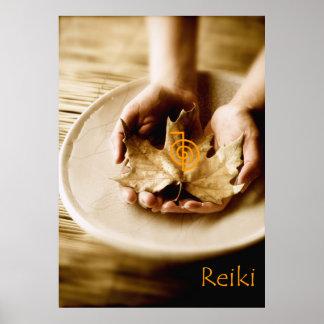 Reiki Power Symbol Poster