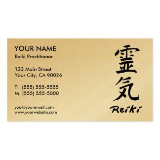 Reiki Practitioner Business Cards