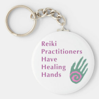 Reiki Practitioners Have Healing Hands Keychain