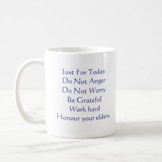 Reiki Principles Classic White Coffee Mug