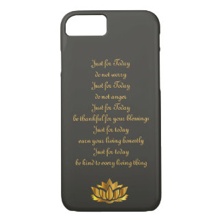 Reiki Principles iPhone 7 Case