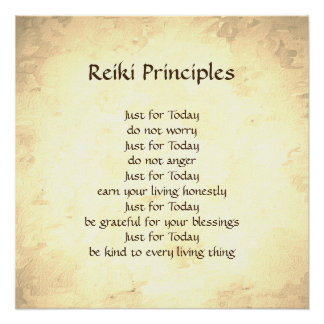 Reiki Principles Gifts on Zazzle