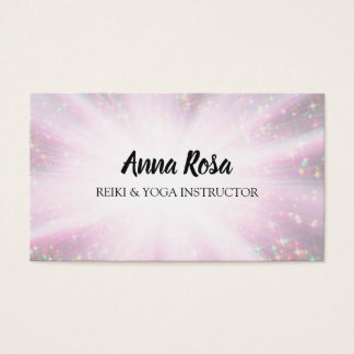 *~* Reiki Rays Energy Healing Light Worker Business Card