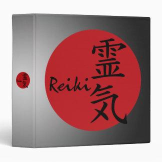 Reiki - red binder