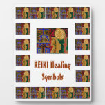 REIKI  - Replace Text n Centre Image Display Plaques