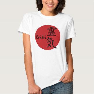 Reiki - rojo playera