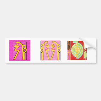Reiki SHI HEI KI - Harmony n balance Bumper Sticker