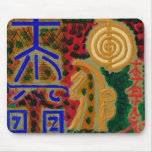 Reiki signs for Luck n Healing Mouse Mat