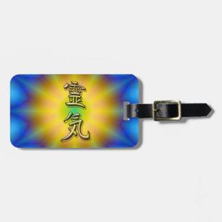Reiki símbolo etiquetas maleta
