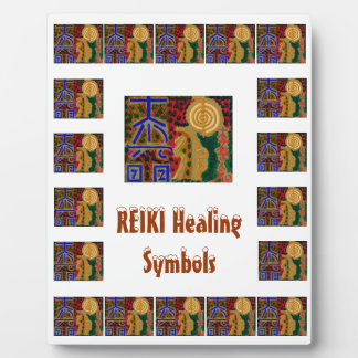REIKI - Substituya la imagen del centro del texto Placa Para Mostrar