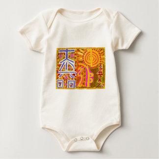 Reiki symbol art HEALING MASTER N STUDENTS Baby Bodysuit