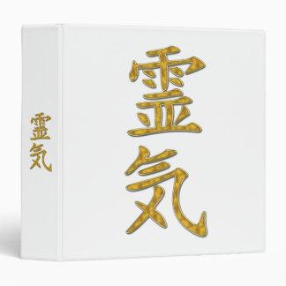 REIKI Symbol gold 3 Ring Binder