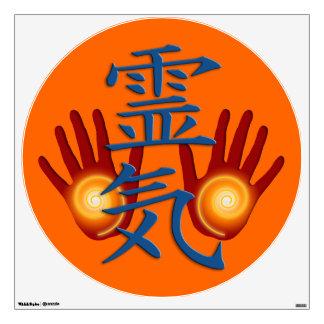 REIKI Symbol & Hands Wall Sticker