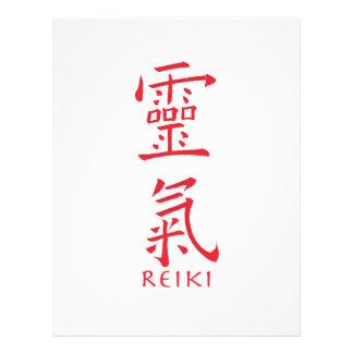 Reiki Symbol in Red Ink Flyer