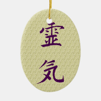 Reiki Symbol Principles Inspirational Ornament