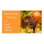 Reiki/tarjeta de visita de la terapia de la energí
