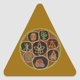 ReikiHealingArt n Karuna Reiki ICONS Triangle Sticker