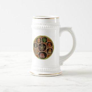 ReikiHealingArt - SELLO curativo de KARUNA Tazas De Café